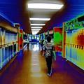 End Of School Day By Erik Akerman  by Beth Akerman