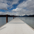 End Of The Dock by Fran Riley