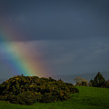 End Of The Rainbow In County Clare by James Truett