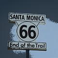 End Of The Trail 2 by Fraida Gutovich