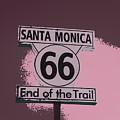 End Of The Trail 5 by Fraida Gutovich