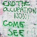 End The Occupation Now by Munir Alawi