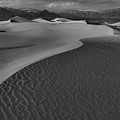 Endless Dunes Black And White by Adam Jewell