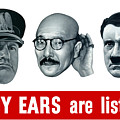 Enemy Ears Are Listening by War Is Hell Store