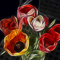Energetic Tulips by Joachim G Pinkawa