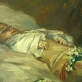 Enfant Mort Detail 1881 by DuboisPillet Albert
