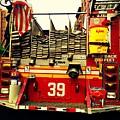 Engine 39 - New York City Fire Truck by Miriam Danar