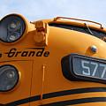 Engine 5771 by Lorraine Baum