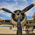 Engine B-17 by Chuck Kuhn