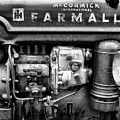 Engine - Farmall Tractor  by Philip Openshaw