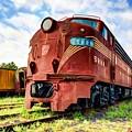 Engine Number 5888 by Mel Steinhauer