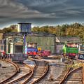 Engine Sheds Quainton Road Buckinghamshire Railway by Chris Thaxter