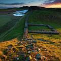 England, Northumberland, Hadrians Wall by Jason Friend