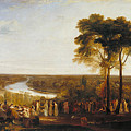 England, Richmond Hill, On The Prince Regent's Birthday by JMW Turner