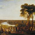 England Richmond Hill On The Prince Regent's Birthday by Joseph Mallord William Turner