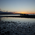 English Bay Sunset by Monte Arnold