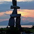 English Bay Vancouver by Jean Pierre Cote