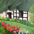 English Cottage by Connie Young