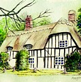 English Cottage In Cambridgshire by Morgan Fitzsimons