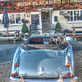 English Pub English Car by Dave Godden