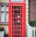 English Telephone Booth by Jim Thompson