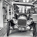 Englishtown New Jersey Antique Classic Car by Geraldine Scull