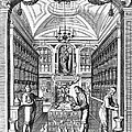 Engraving Of Pharmacy, Geiger, 1651 by Wellcome Images