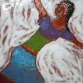 Enid - Tile by Gloria Ssali