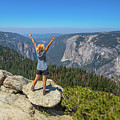 Enjoying At Yosemite Summit by Benny Marty