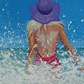 Enjoying The Sea by Polina Kamenska