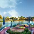 Enjoying The Shade World Showcase Lagoon Walt Disney World by Thomas Woolworth