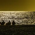 Enjoying The Sunset by Wolfgang Stocker