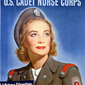 Enlist In A Proud Profession - Join The Us Cadet Nurse Corps by War Is Hell Store