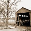 Enochsburg Indiana Covered Bridge by Gary Wonning