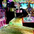 Ensenada Street Scene by Howard Lancaster