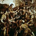 Entering Into Jerusalem by Dino Muradian