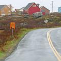Entering Peggys Cove 6068 by Jack Schultz