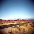 Entering The Valley Of Fire by Lori Andrews