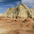 Entrada Sandstone Cliffs Toadstools by NaturesPix
