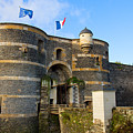 Entrance Gate Of Angers Castle by Anastasy Yarmolovich
