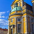 Entrance Kalmar Cathedral by Roberta Bragan