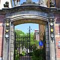 Entrance Of Bornhof by Maria Douwma