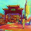 Entrance To Chinatown by Carole Spandau