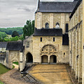 Entrance To Fontevraud Abbey by Dave Mills