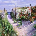 Entrance To Nantasket by Laura Lee Zanghetti