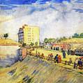 Entrance To Paris With A Horsecar by Vincent van Gogh