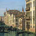 Entrance To The Grand Canal Looking West by Canaletto