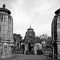 Entrance To The Mukteswar Temple In Bhubaneswar India by Sami Sarkis