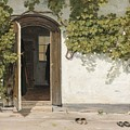 Entrance To The Rectory At Hill Place by Celestial Images