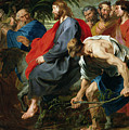 Entry Of Christ Into Jerusalem by Sir Anthony van Dyke